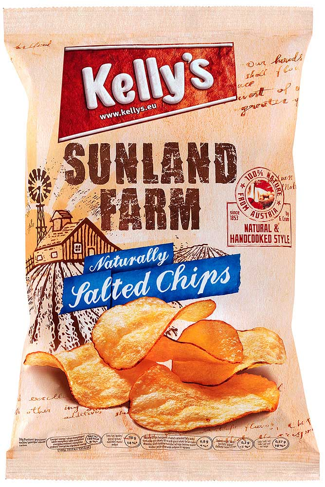 Kelly's Sunland Farm Chips salted